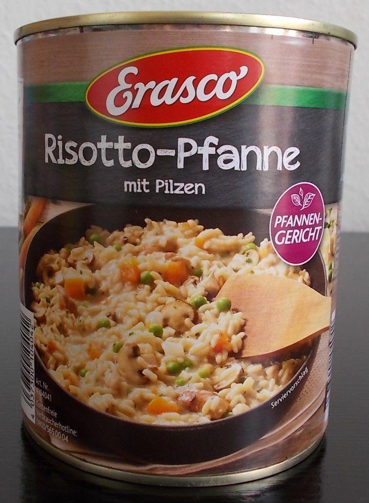 Erasco Risotto-Pfanne mit Pilzen Pfannengericht