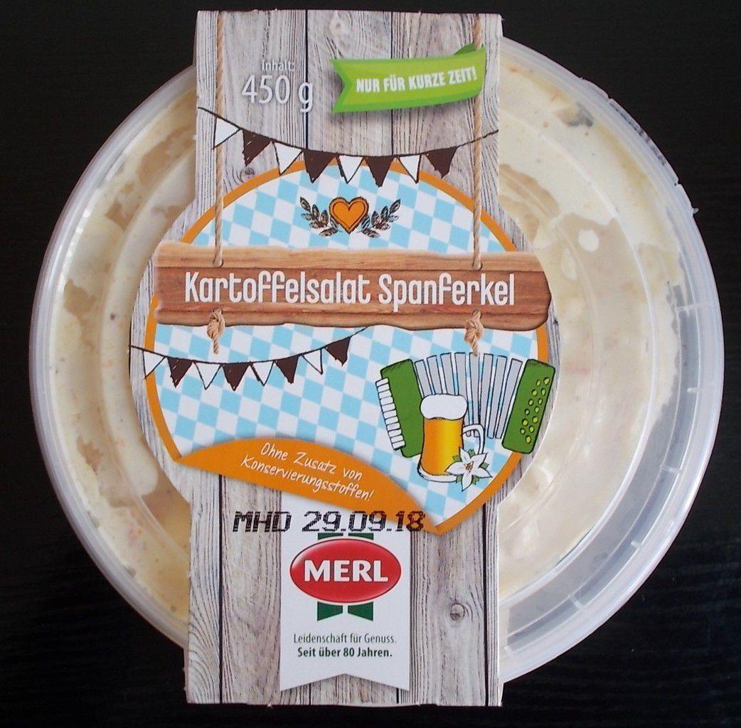 MERL Kartoffelsalat Spanferkel
