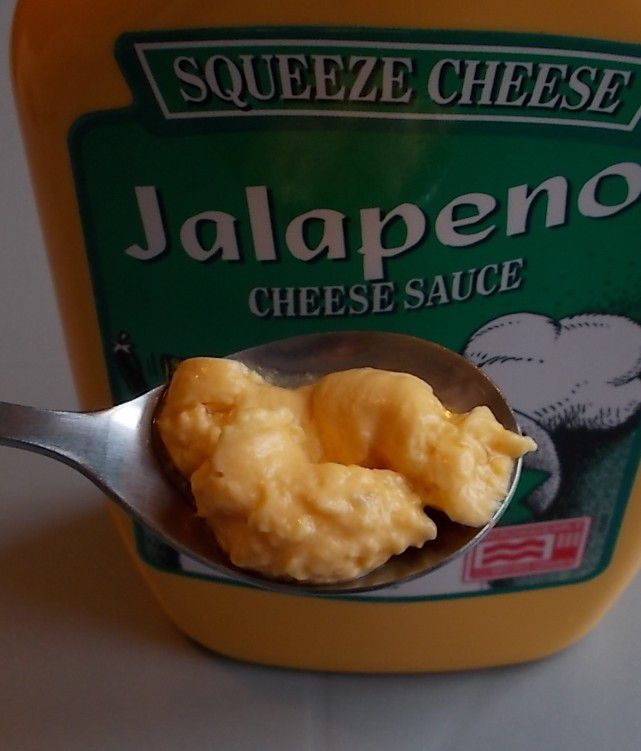 Squeeze Cheese Jalapeno Cheese Sauce