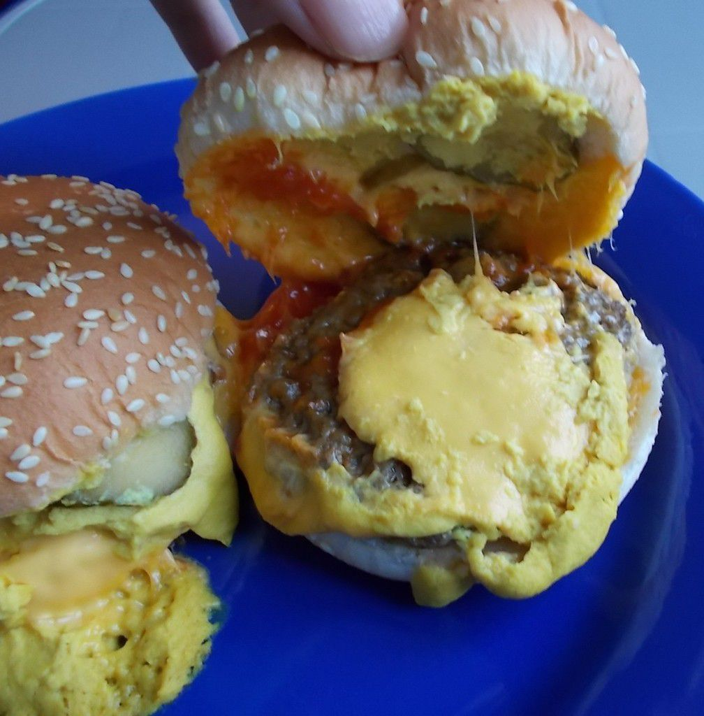 Agro On Cheese Burger