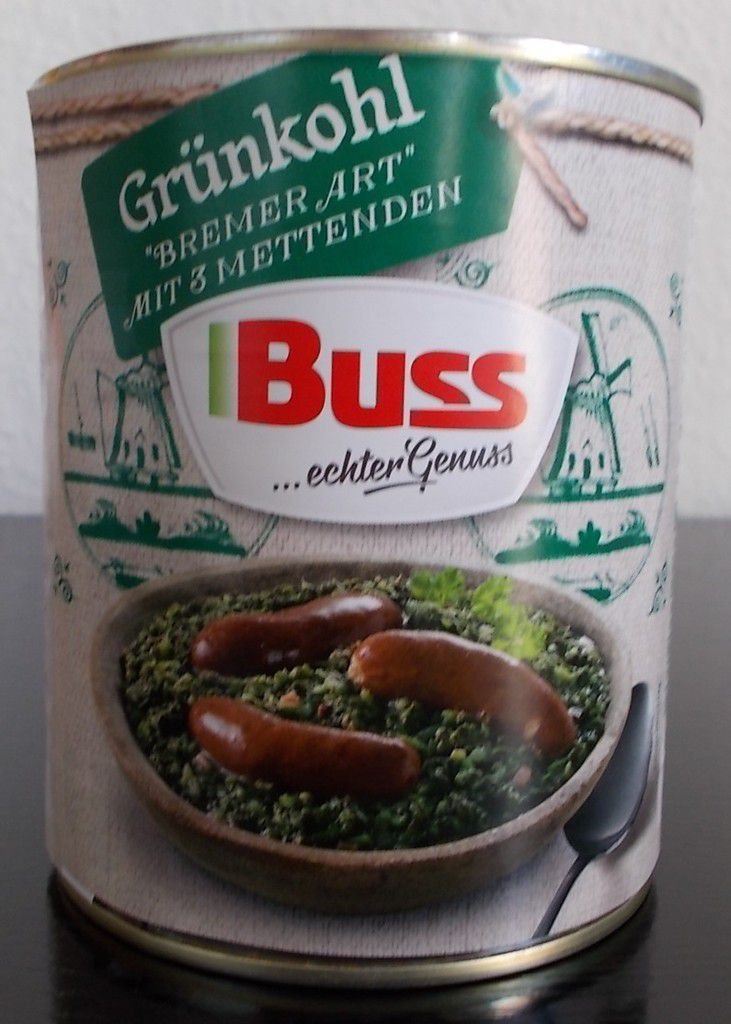 Buss Grünkohl Bremer Art mit 3 Mettenden
