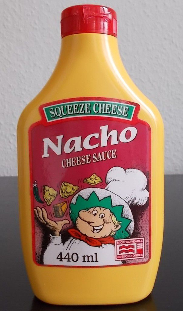 Squeeze Cheese Nacho Cheese Sauce
