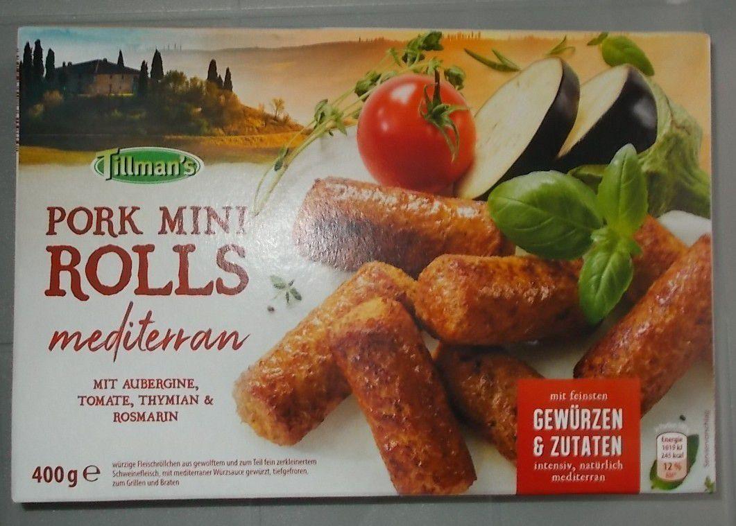 Tillman's Pork Mini Rolls mediterran