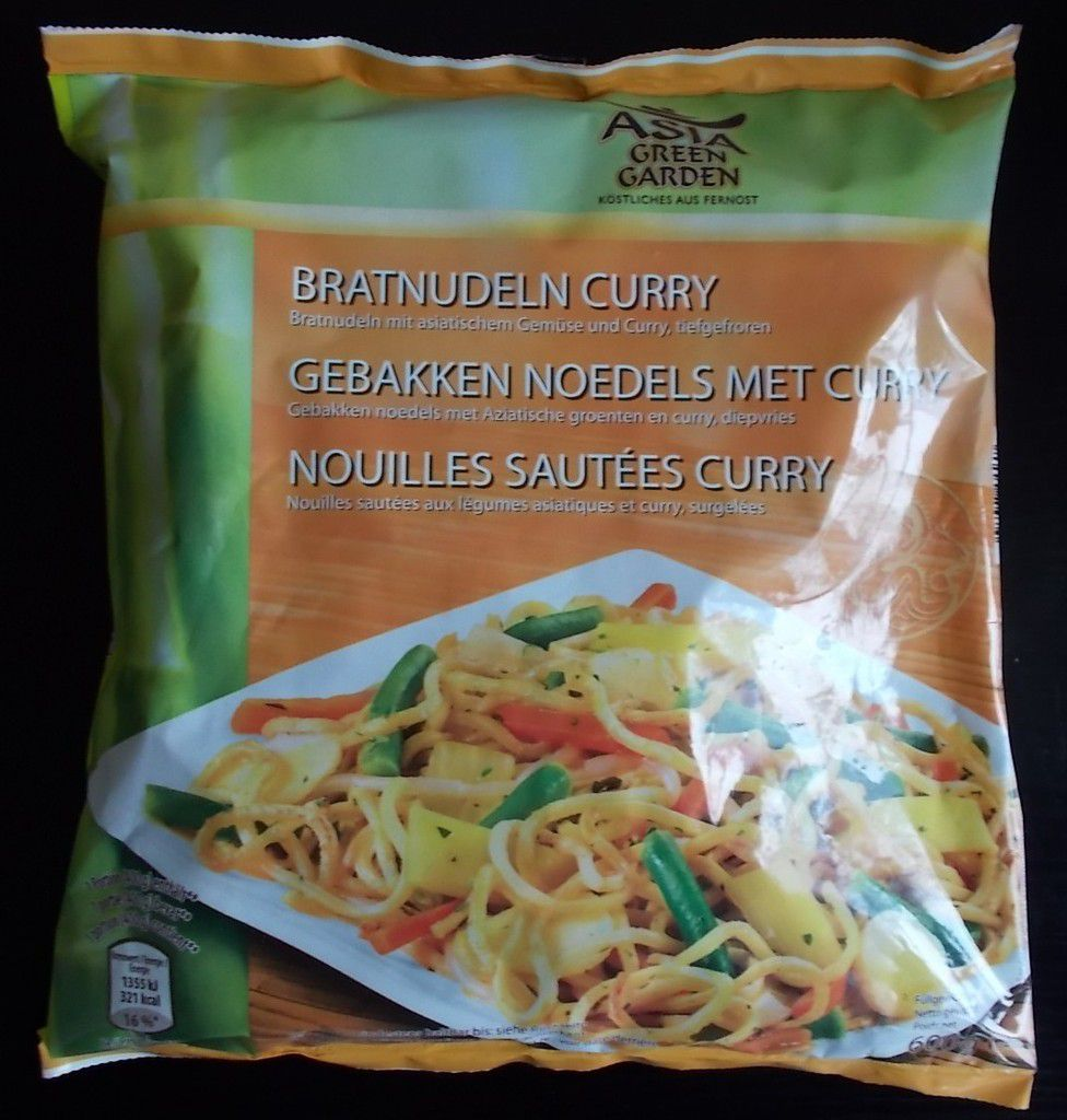 [Aldi] Asia Green Garden Bratnudeln Curry