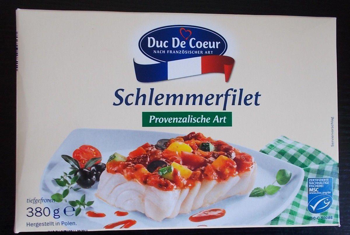 [Lidl] Duc De Coeur Schlemmerfilet Provenzalisch