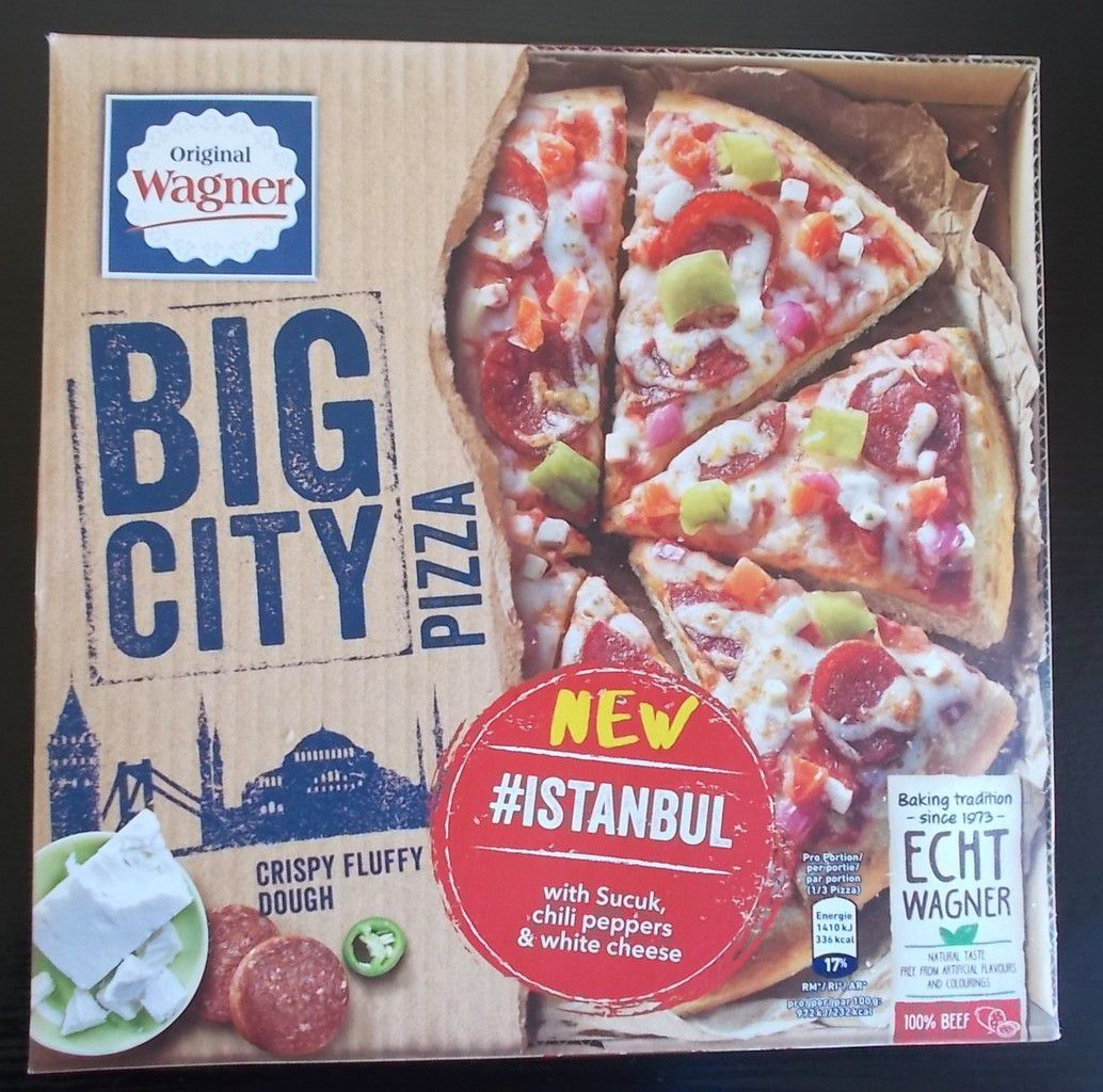 Wagner Big City Pizza Istanbul with Sucuk