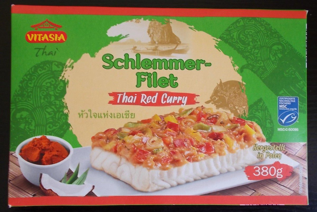 [Lidl] Vitasia Schlemmer-Filet Thai Red Curry