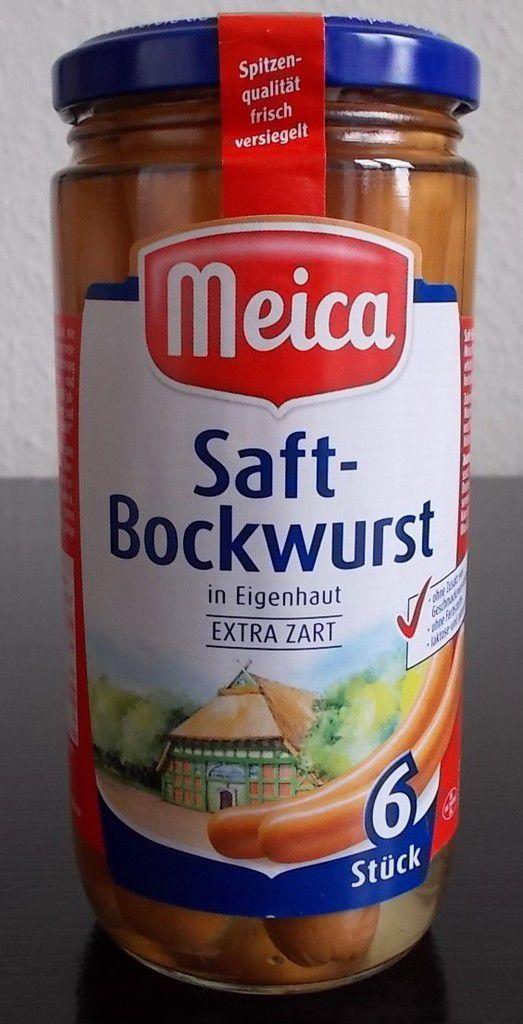 Meica Saft-Bockwurst in Eigenhaut extra zart