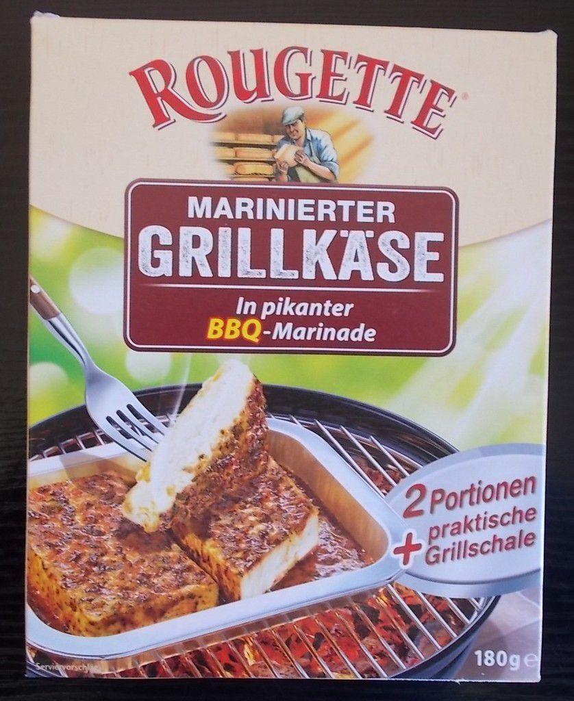ROUGETTE Marinierter Grillkäse in BBQ-Marinade