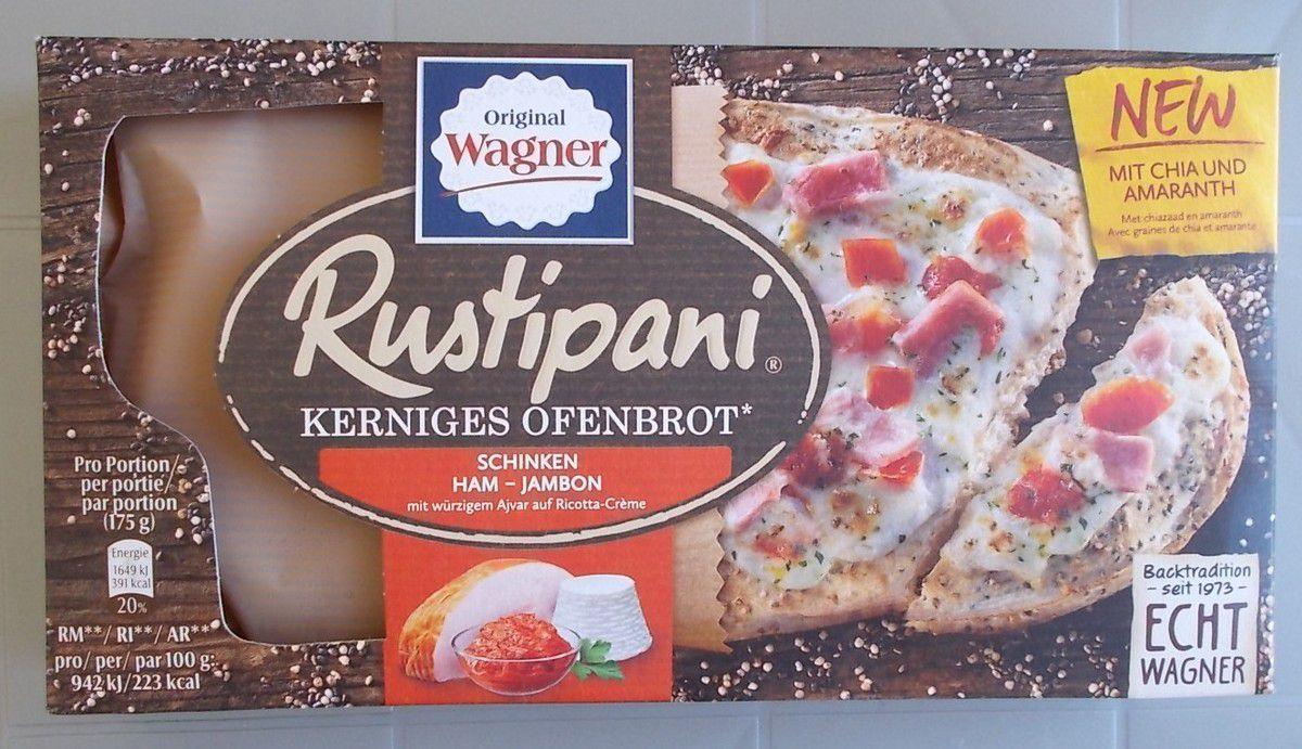 Wagner Rustipani Kerniges Ofenbrot Schinken