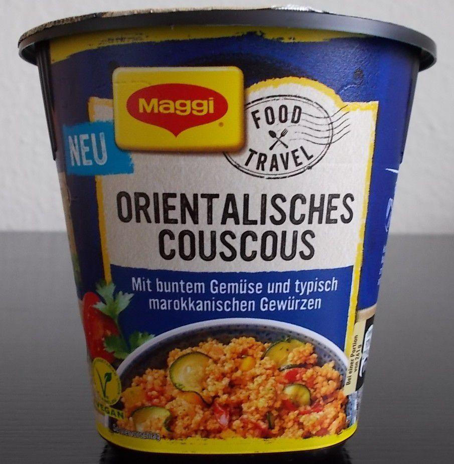 Maggi Food Travel Orientalisches Couscous