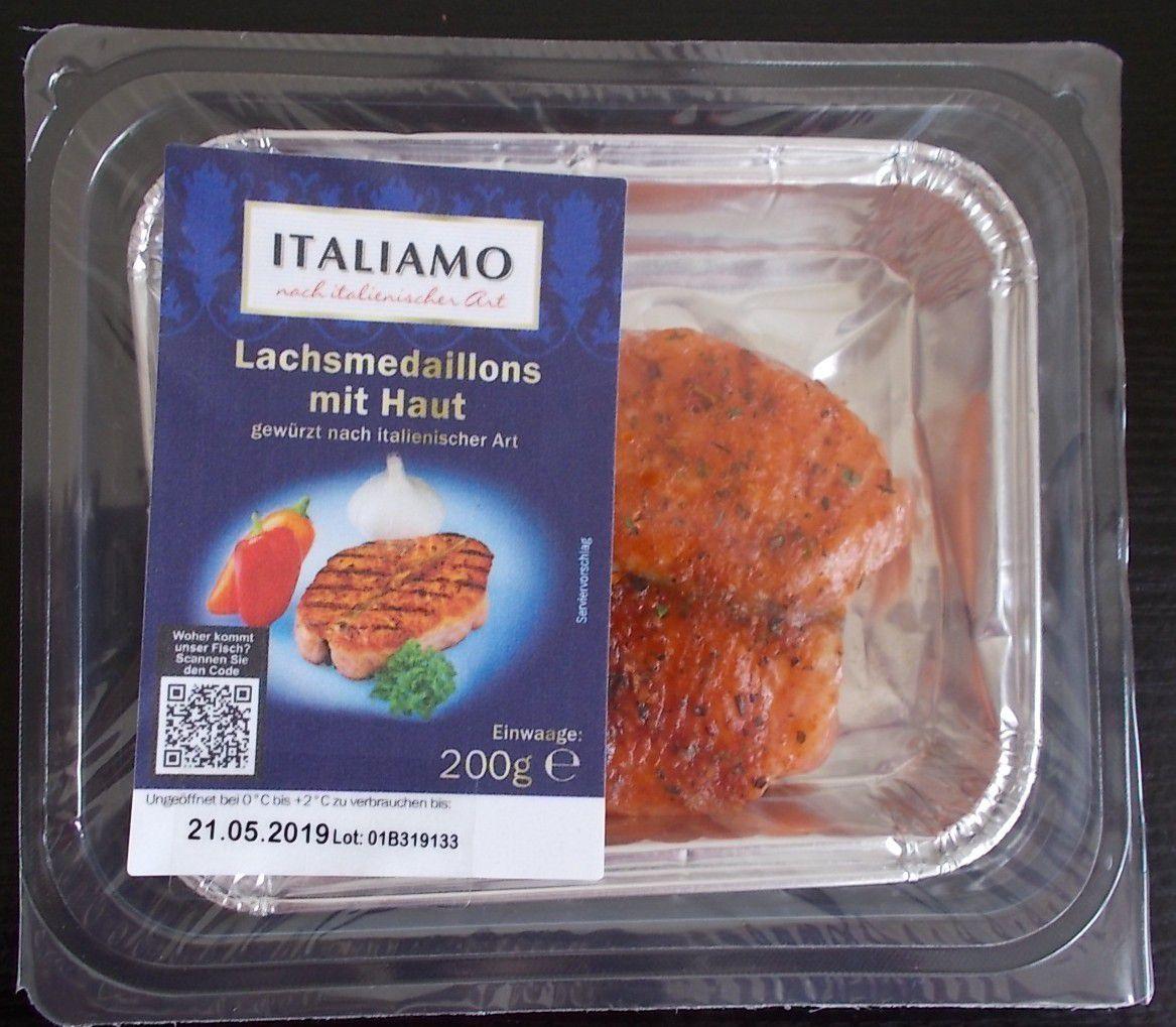 [Lidl] Italiamo Lachsmedaillons nach italienischer Art
