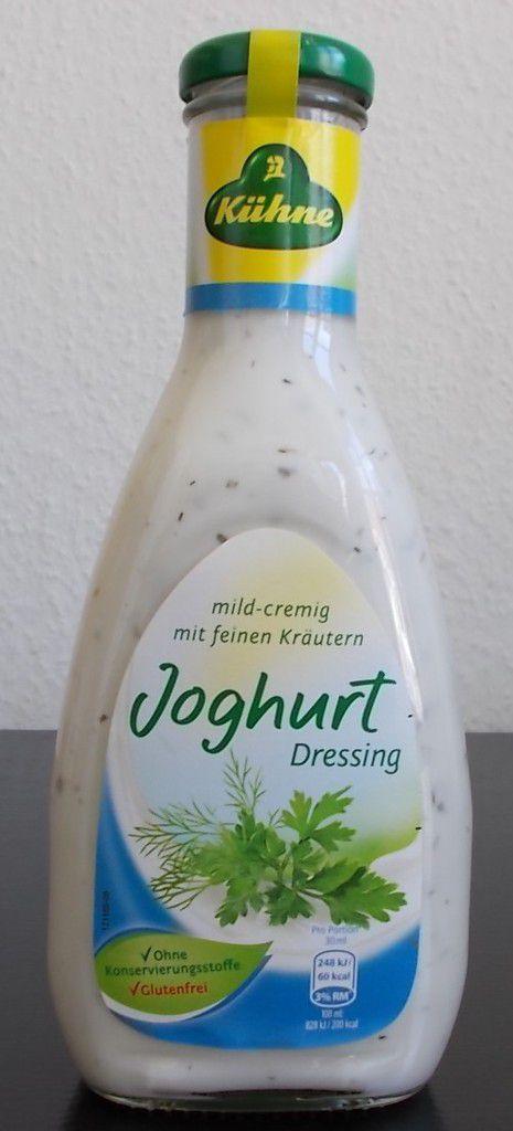 Kühne Joghurt Dressing mit feinen Kräutern