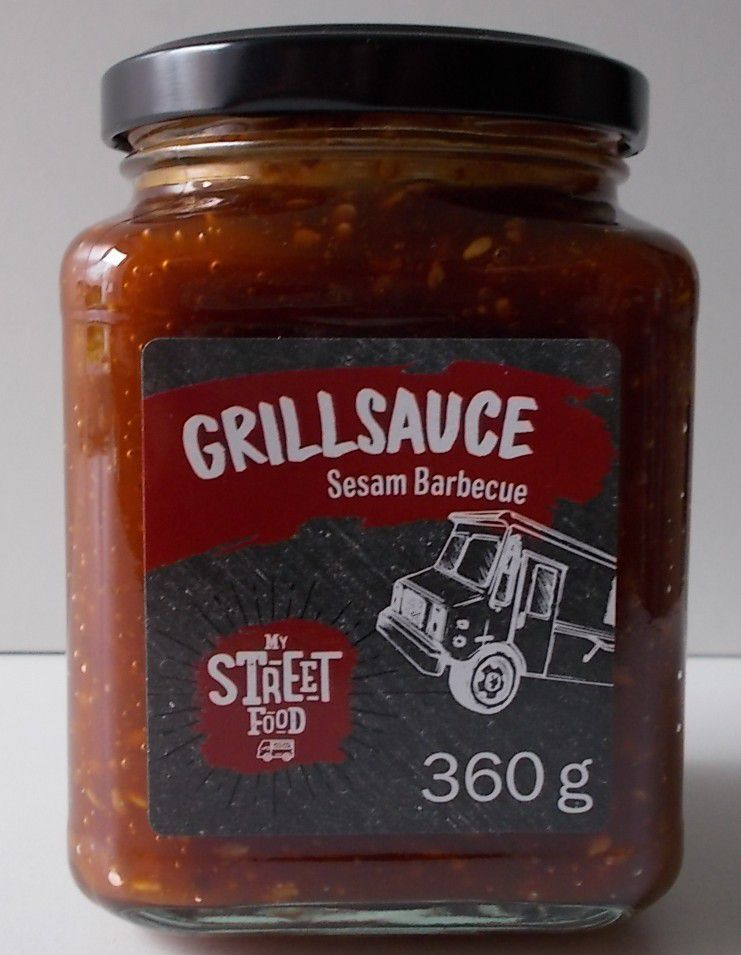 [Lidl] My Street Food Grillsauce Sesam Barbecue