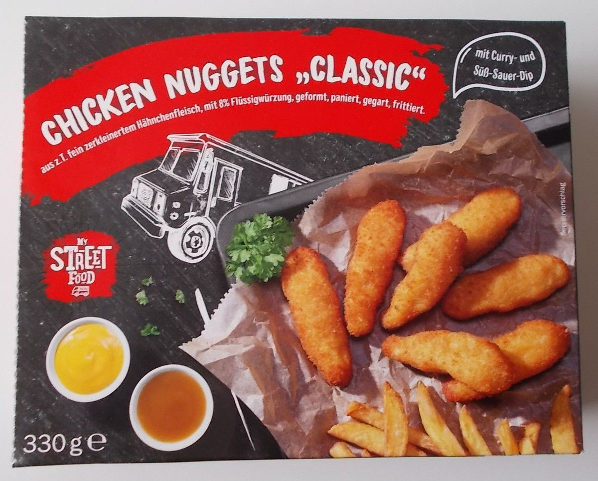 [Lidl] My Street Food Chicken Nuggets Classic mit Dips