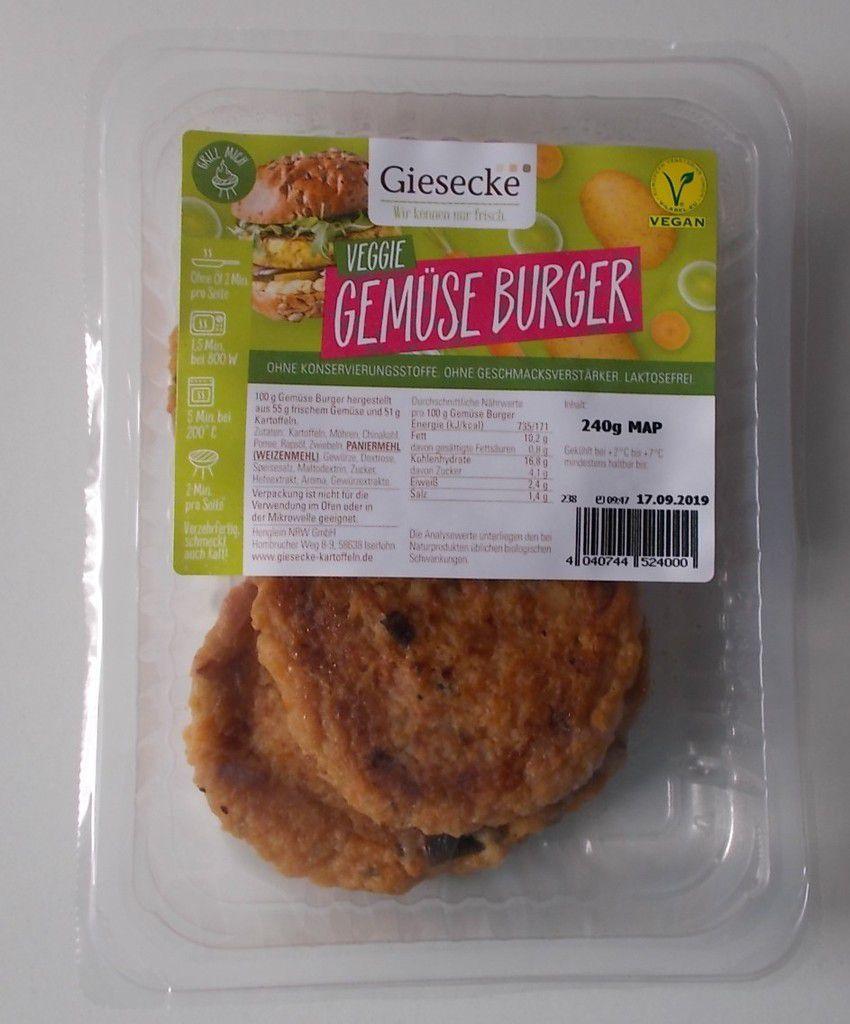Giesecke Veggie Gemüse Burger