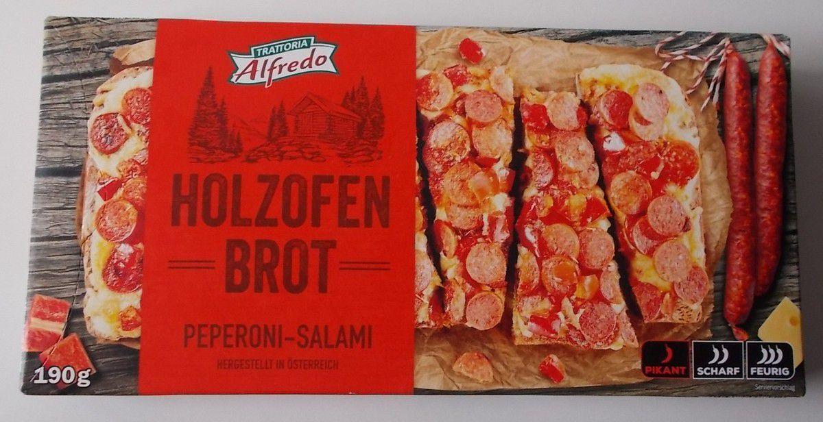 [Lidl] Alfredo Holzofen Brot Peperoni-Salami pikant