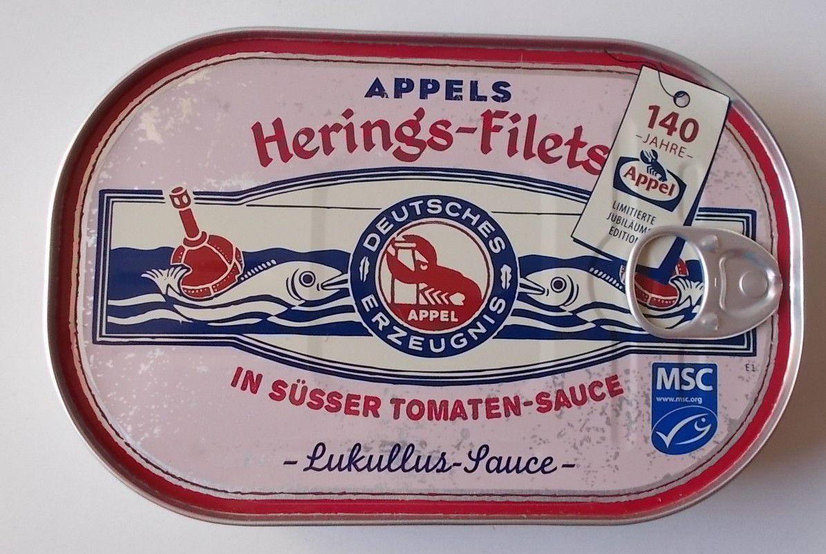 Appels Hering's-Filets in süsser Tomaten-Sauce - Lukullus-Sauce