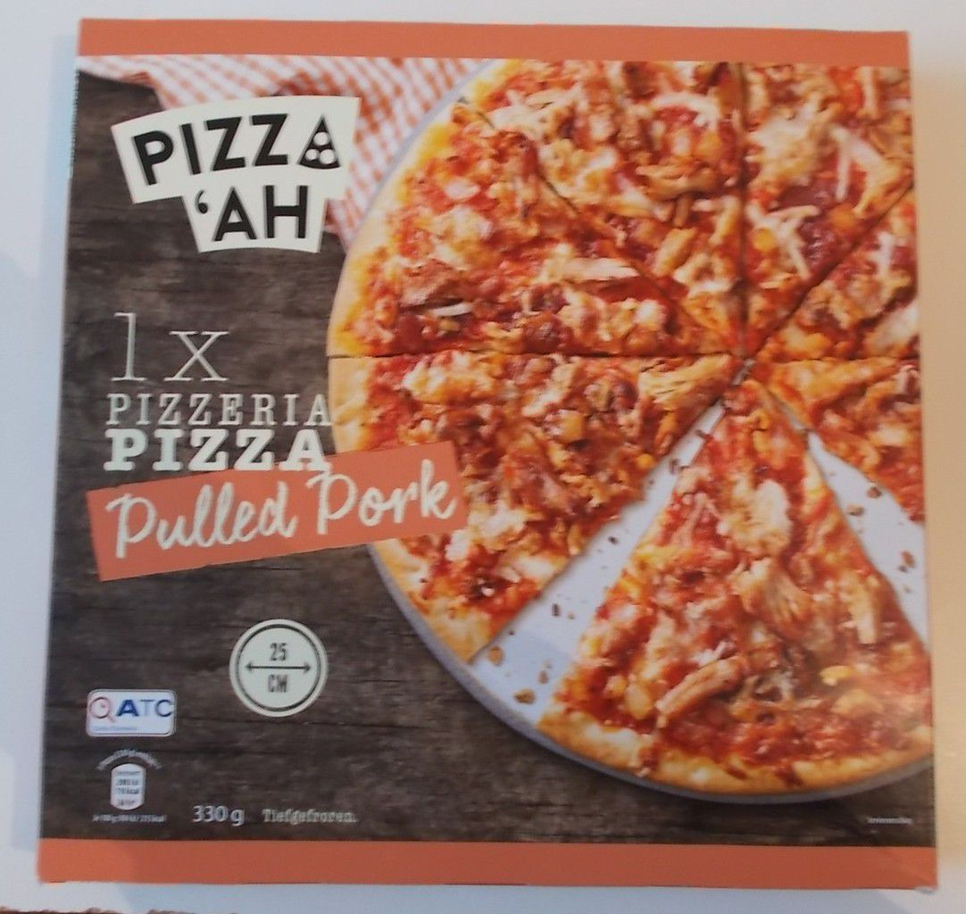 [Aldi] Pizz'Ah Pizzeria Pizza Pulled Pork