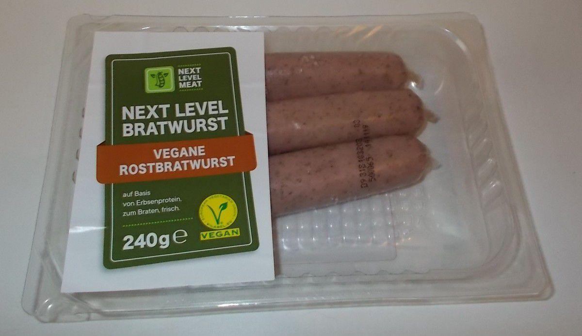 [Lidl] Next Level Bratwurst Vegane Rostbratwurst