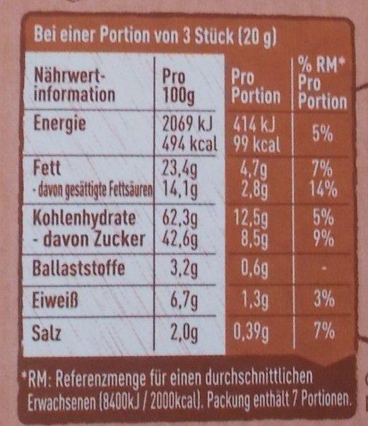 Nestle Choco Crossies Crunchy Salted Caramel