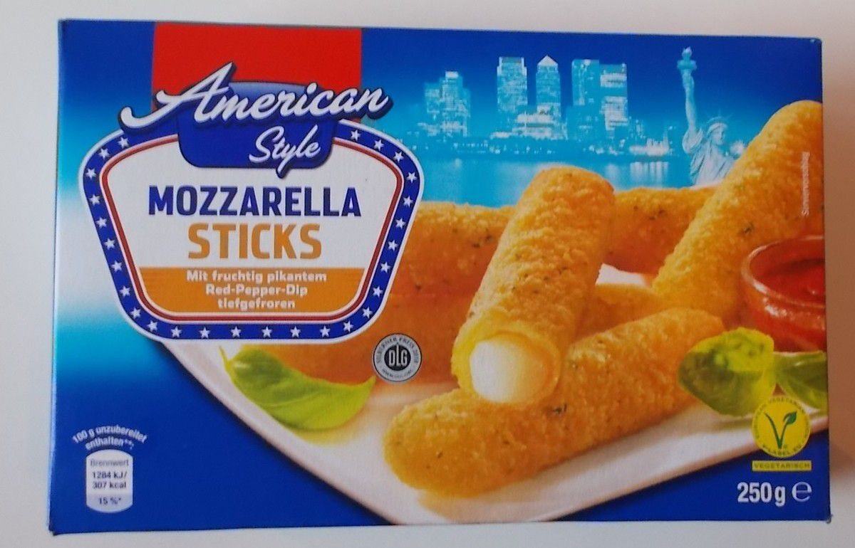 [Netto] American Style Mozzarella Sticks mit Dip