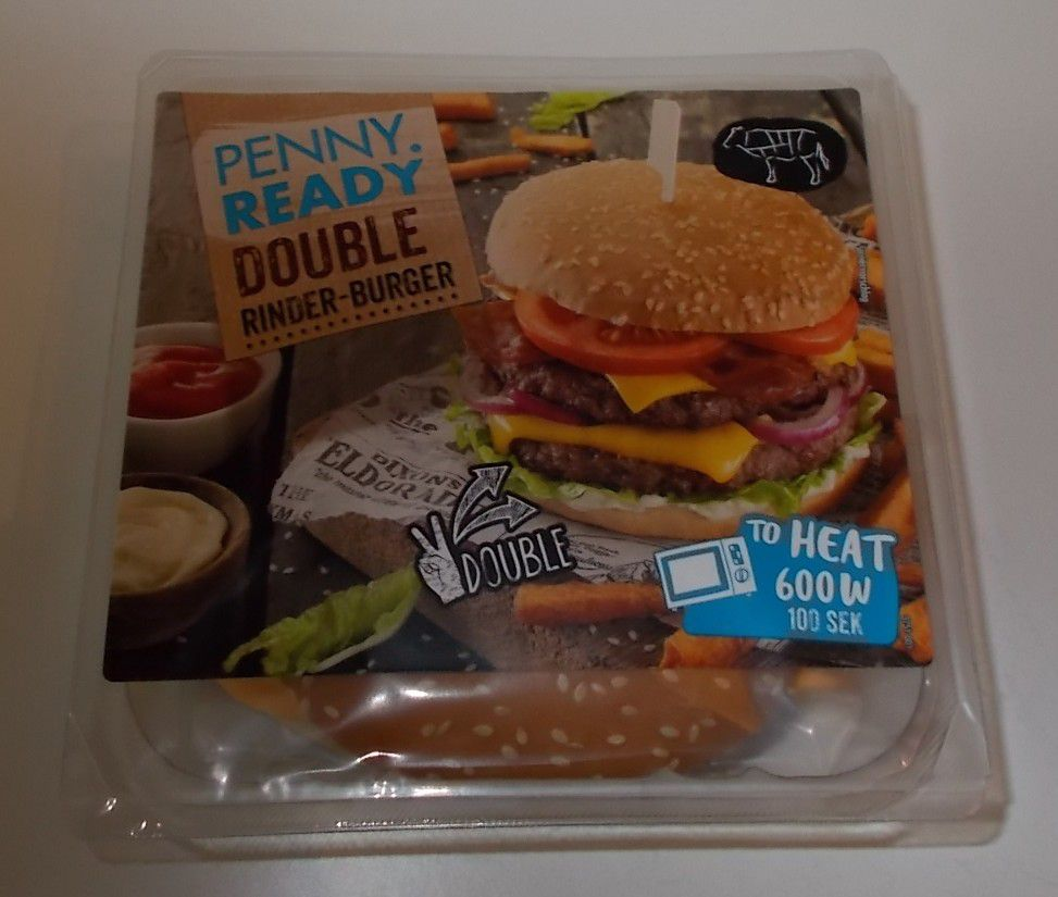 [Penny] Ready Double Rinder-Burger