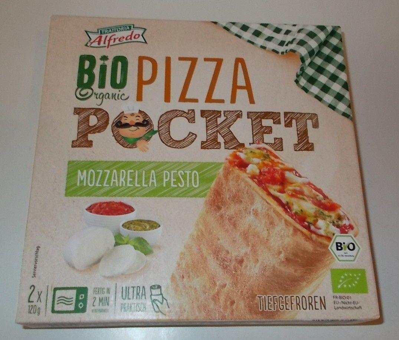 [Lidl] Alfredo Bio Pizza Pocket Mozzarella Pesto