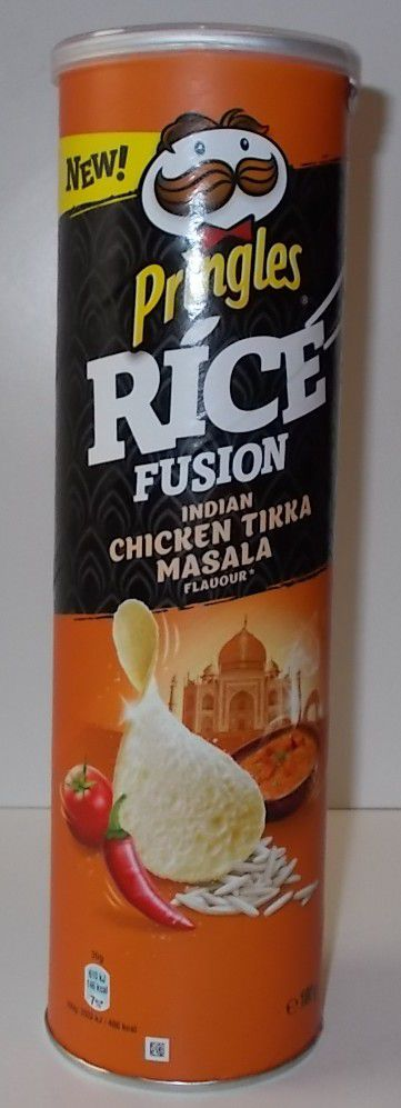 Pringles Rice Fusion Indian Chicken Tikka Masala Flavour