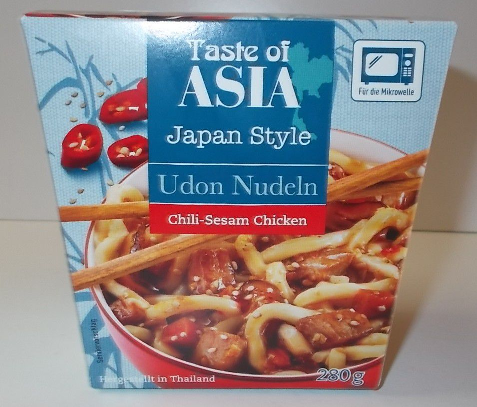 [Penny] Taste of Asia Udon Nudeln Chili-Sesam Chicken