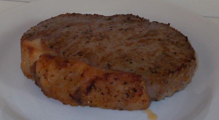 [Aldi] BBQ Rib-Eye-Steak Pfeffer vom Rind