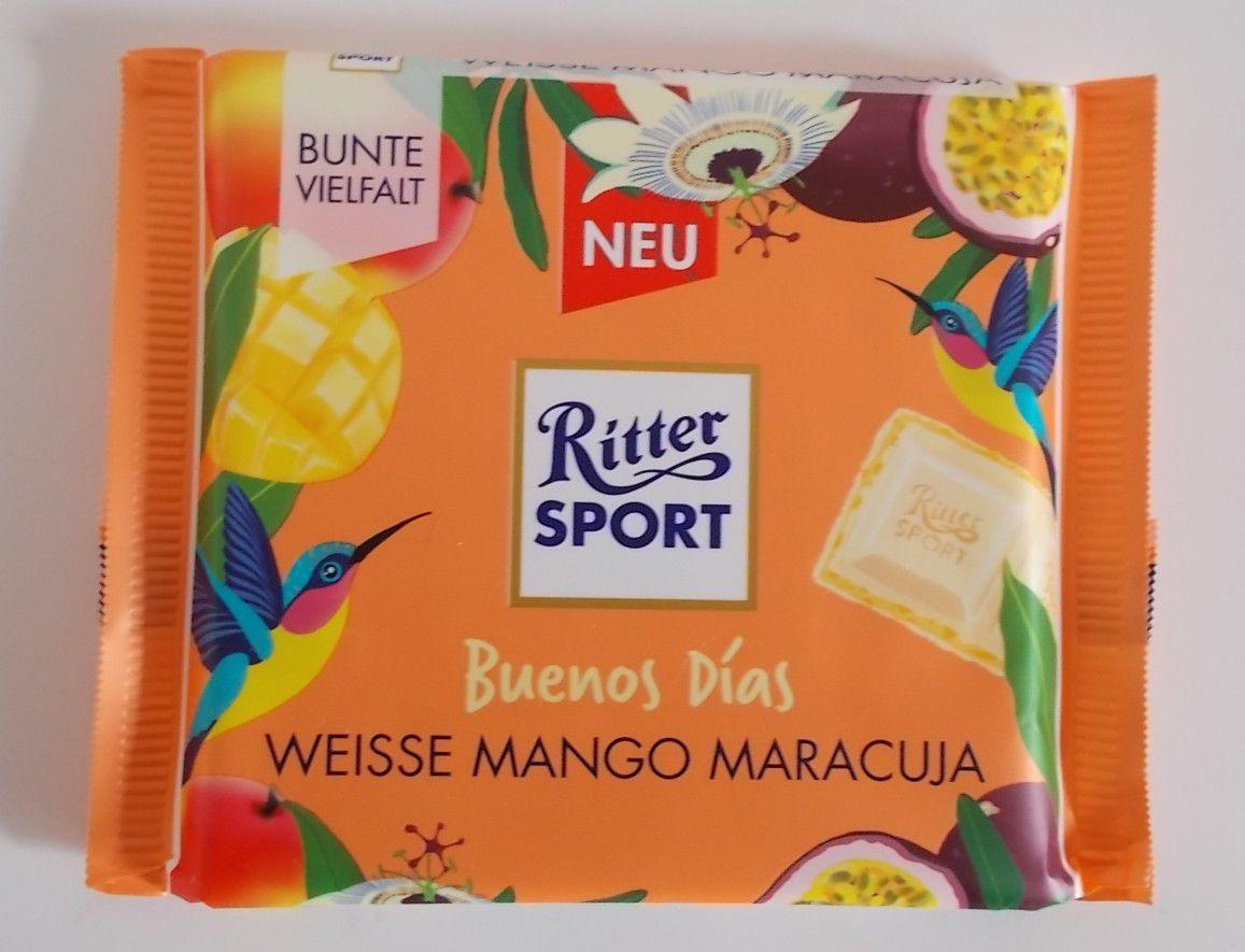Ritter Sport WEISSE MANGO MARACUJA