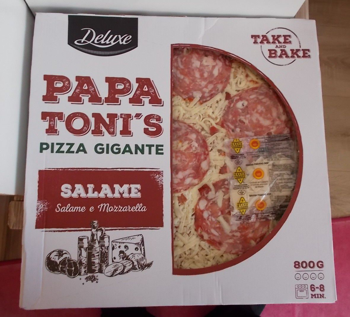 [Lidl] Deluxe Papa Toni's Pizza Gigante Salame