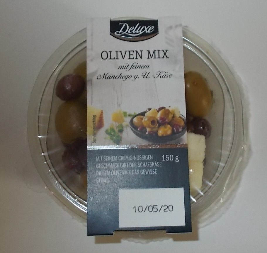[Lidl] Deluxe Oliven Mix mit Manchego Käse