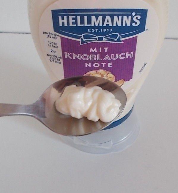 Hellmann's mit Knoblauch Note