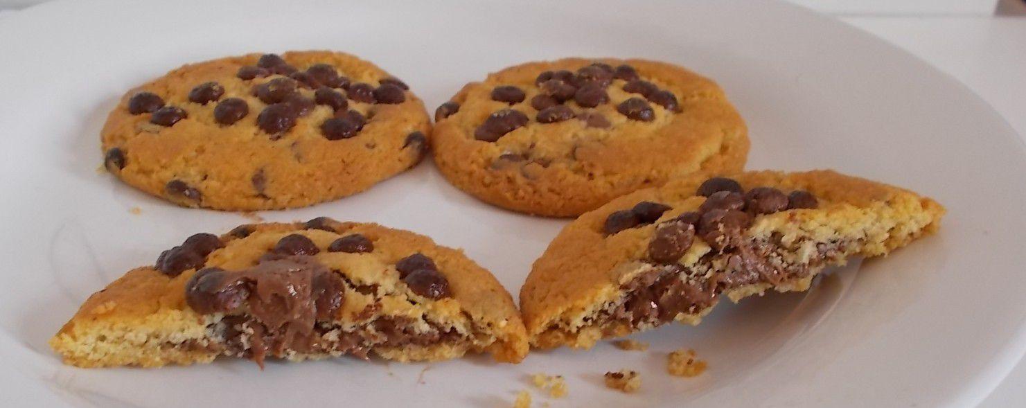 Milka Sensations innen schokoladig Cookies