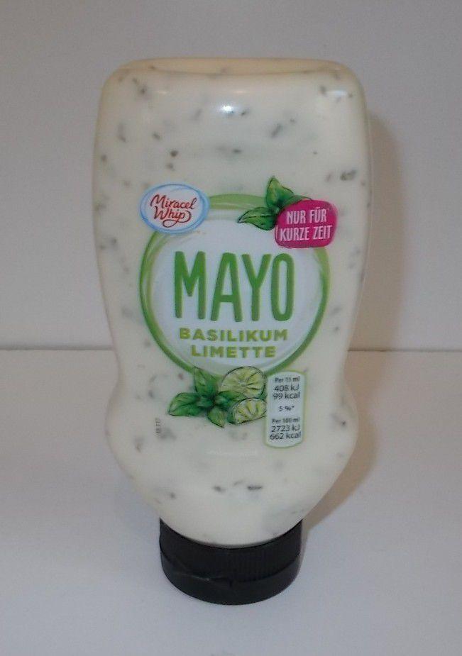Miracel Whip Mayo Basilikum Limette