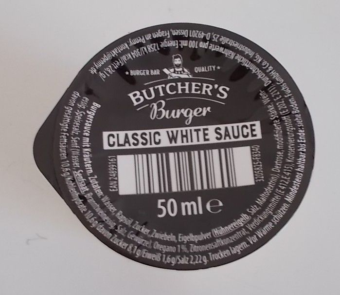 [Penny] Butcher's Burger Classic White Sauce