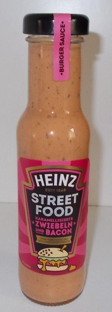Heinz Street Food Karamellisierte Zwiebeln und Bacon