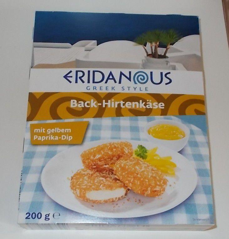 [Lidl] Eridanous Back-Hirtenkäse mit Paprika-Dip