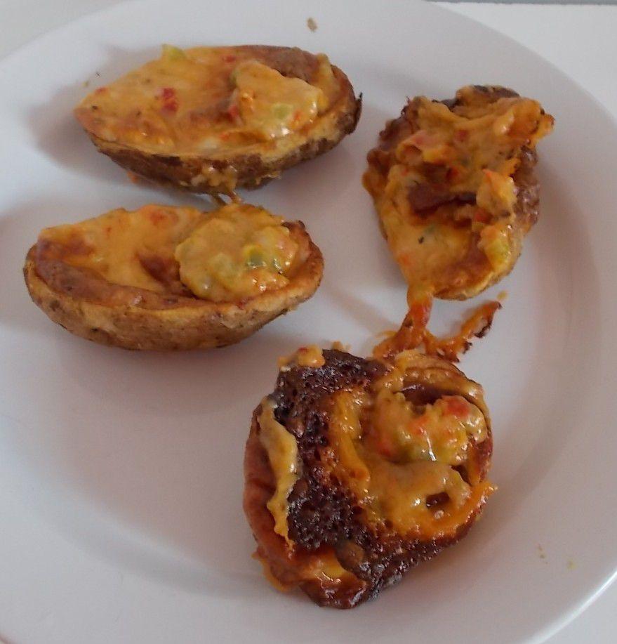 [Lidl] Baked Potato Skins Chili Cheese