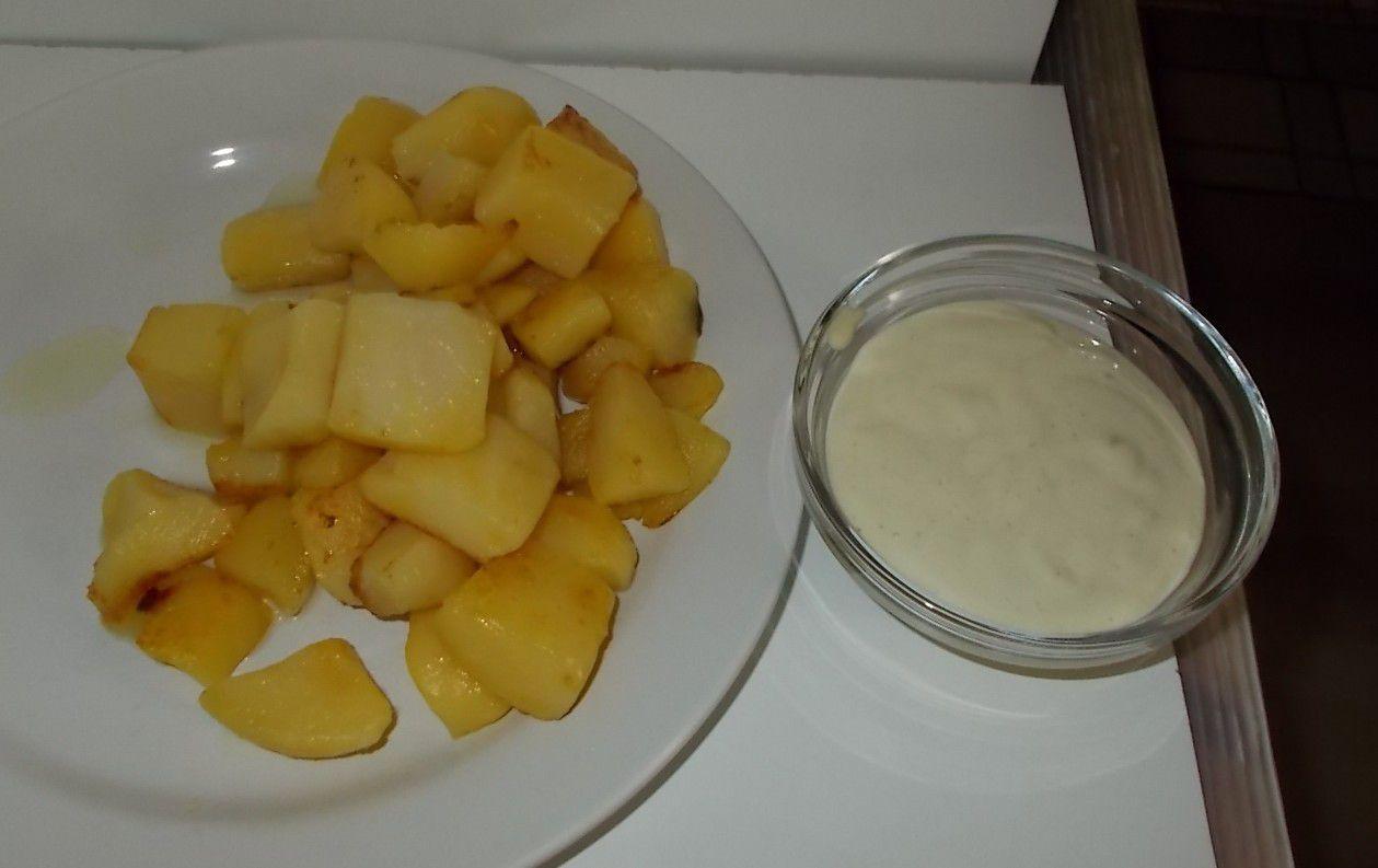 [Aldi] Landfreude Snack-Kartoffeln mit Knoblauch-Dip