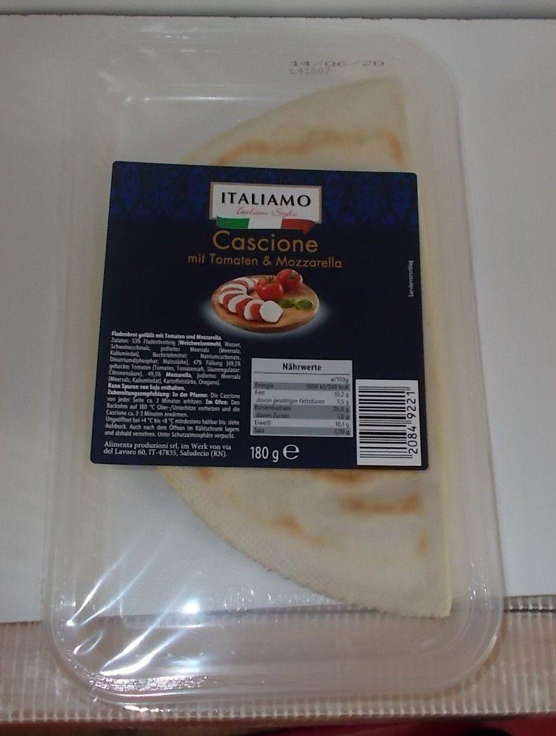 [Lidl] Italiamo Cascione mit Tomaten & Mozzarella