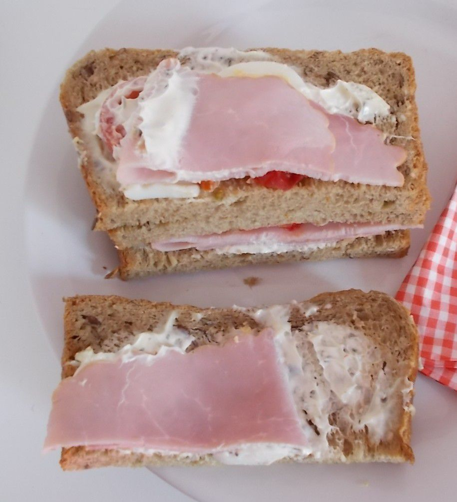 [Aldi] Snack Time Club Sandwich Farmer's Schinken