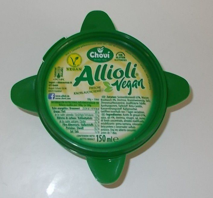 Chovi Allioli vegan