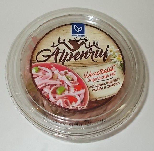 Kühlmann Alpenruf Wurstsalat Ungarischer Art