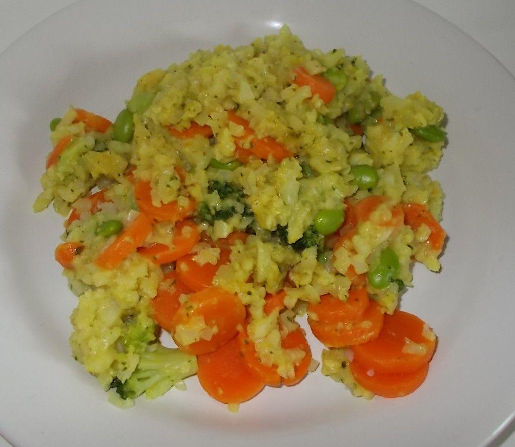 FRoSTA Gemüse Pfanne mit Blumenkohlraspeln & Curry