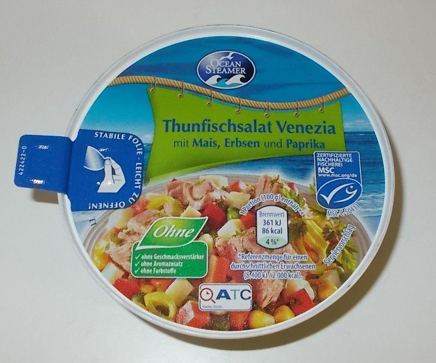 [Aldi] Ocean Steamer Thunfischsalat Venezia mit Mais