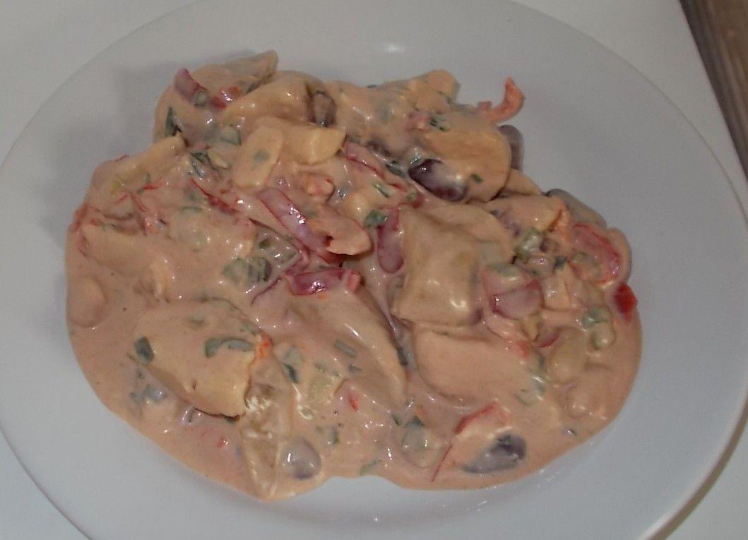 Golßener BBQ-Kartoffelsalat mit pikantem Dressing