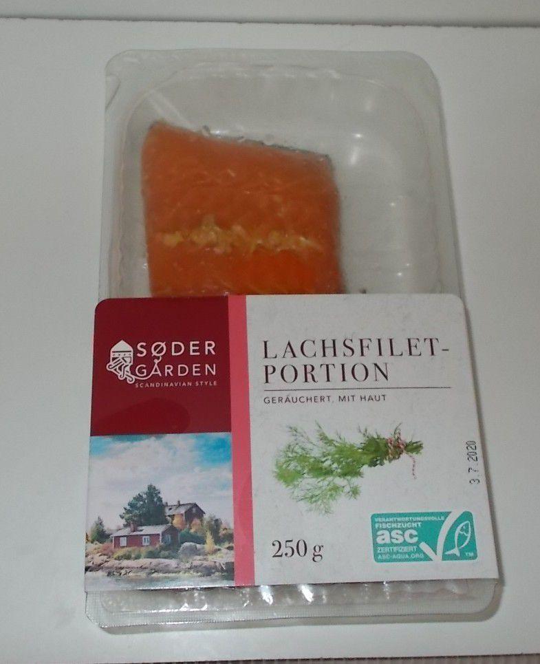 [Lidl] Södergarden Lachsfilet-Portionen geräuchert